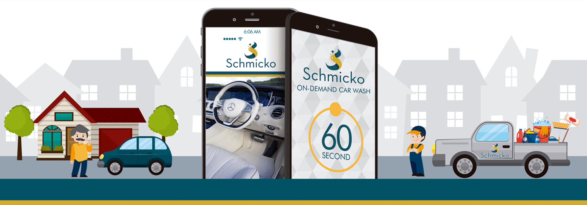 Schmicko On-Demand Car Wash