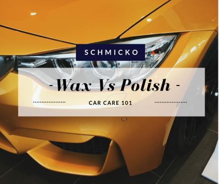 Difference between Wax and Polish