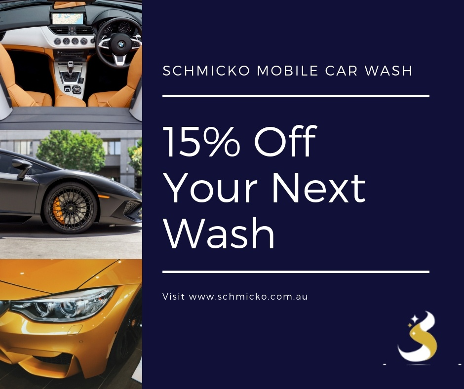 15% Off Regular Car Washes