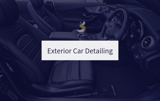Exterior Car Detailing