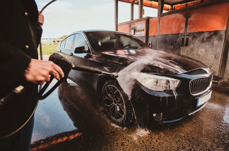 DIY car wash