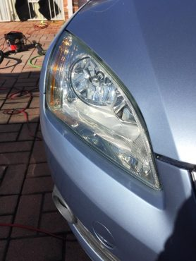 after headlight restoration
