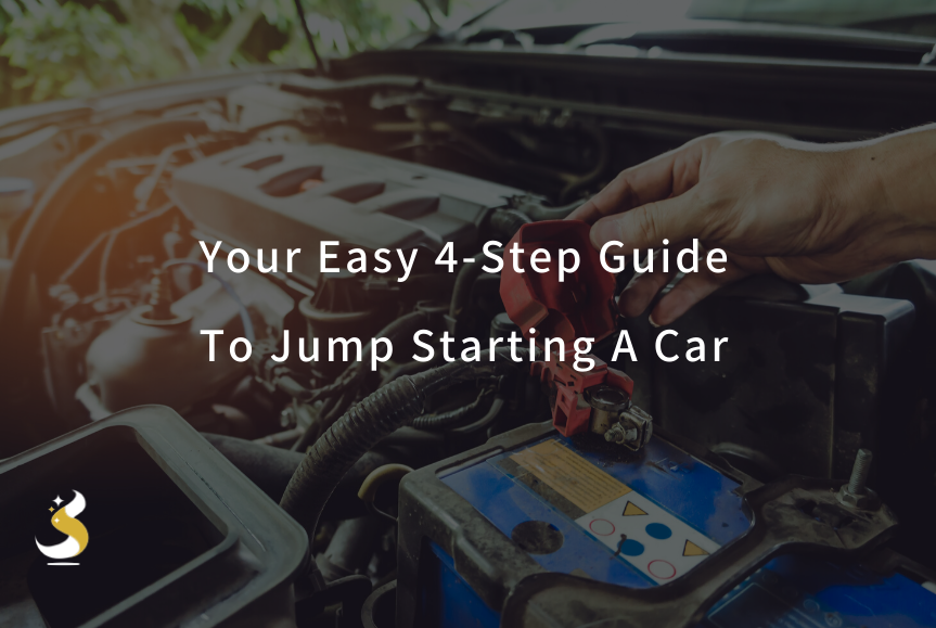 Your Easy 4 Step Guide To Jump Starting A Car