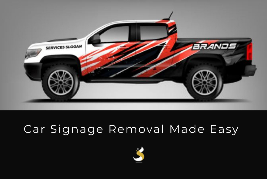 Car Signage Removal Made Easy